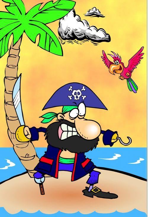 captain hook parrot island