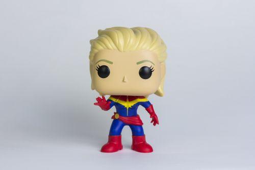 captain marvel marvel figurine figurine