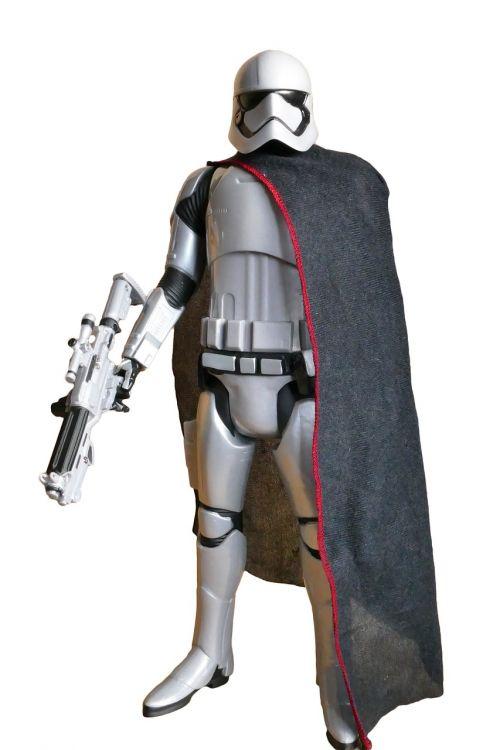 captain phasma star wars trooper