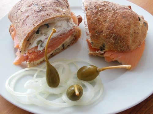 capture salmon bread