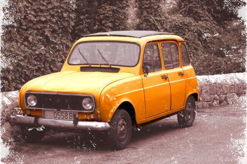 car renault vintage