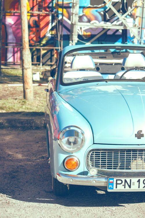 car warsaw blue