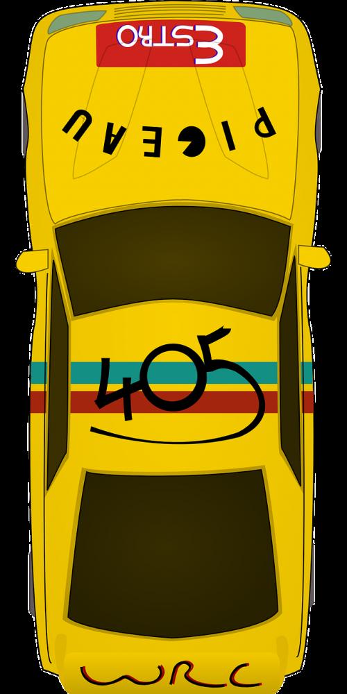 car vehicle yellow