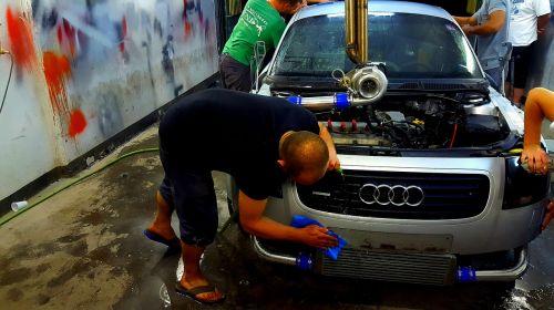 car repair vinyl