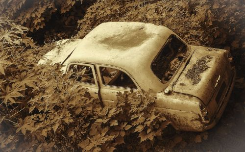 car wreck old