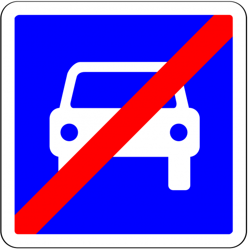car stop off