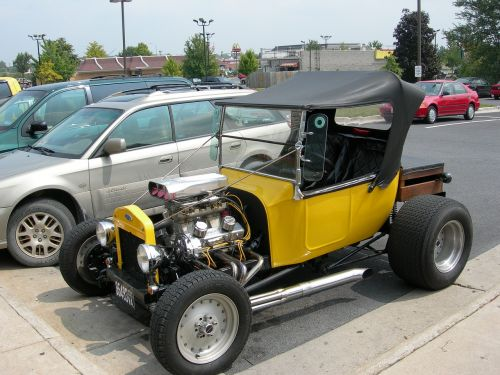 car hot rod antique