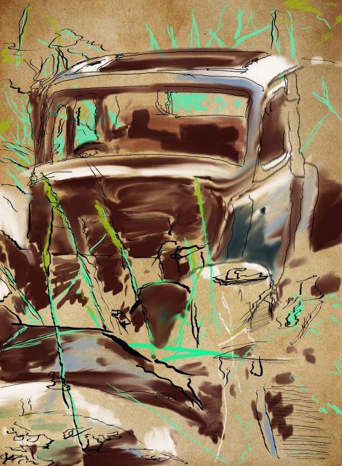 car old rust