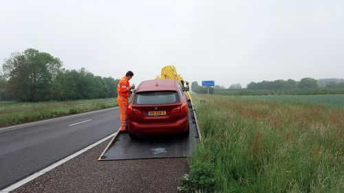 car car breakdown bad luck