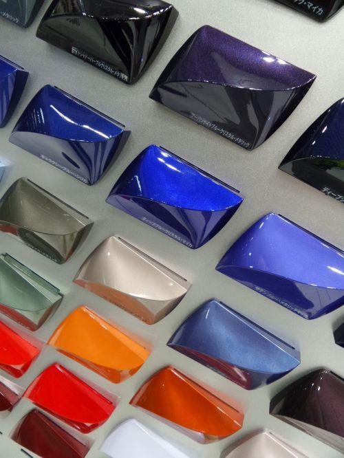 car showroom color