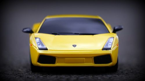 car headlights lamborghini
