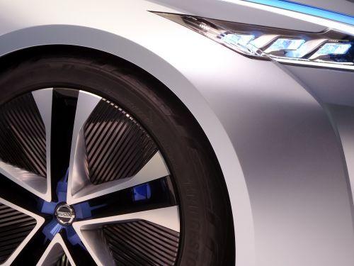 car front wheel