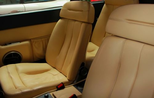 car seat interior