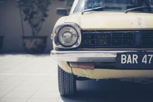 car classic headlight