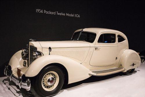 car 1934 packard twelve model 1106 art deco