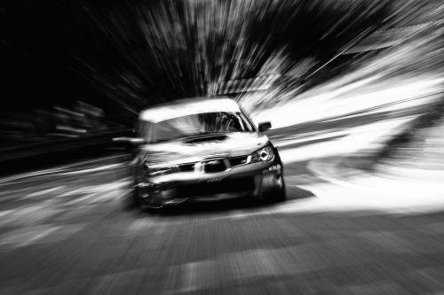 car race motion