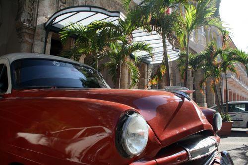 car cuba old