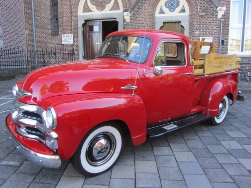 car red oldtimer