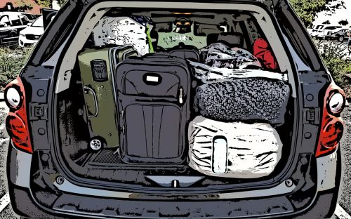 car packing packed