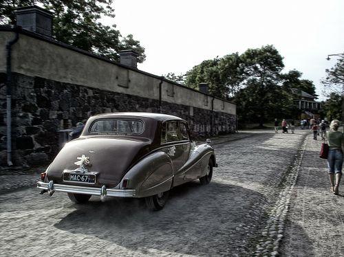 car wedding suomenlinna
