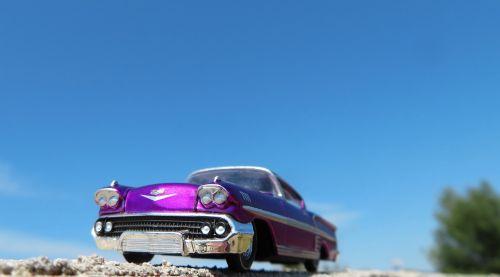 car chevrolet impala purple