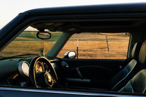 car dashboard speedometer