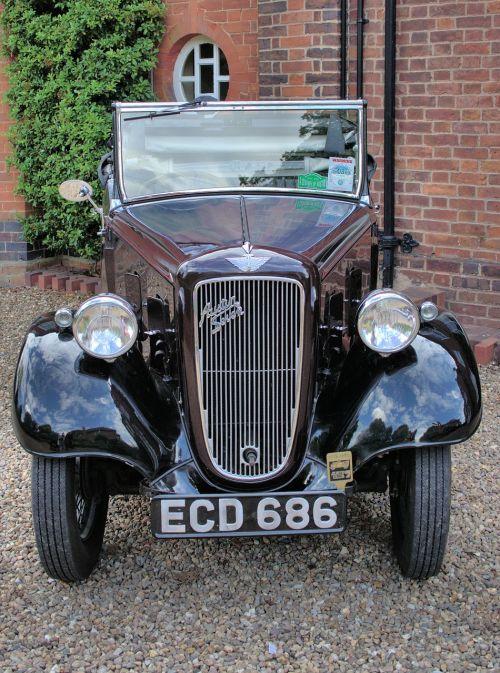 car vintage austin