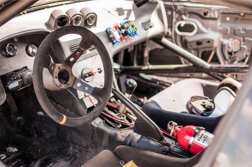 car interior dash
