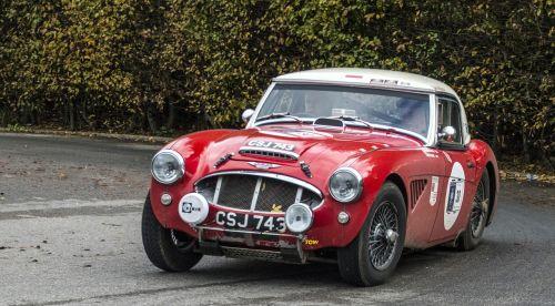 car classiccar rally