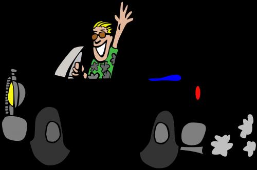 car black cabriolet