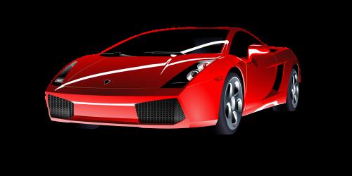 car sports car red