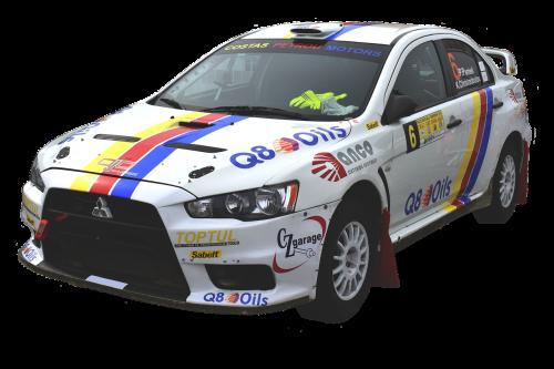 car rally sport