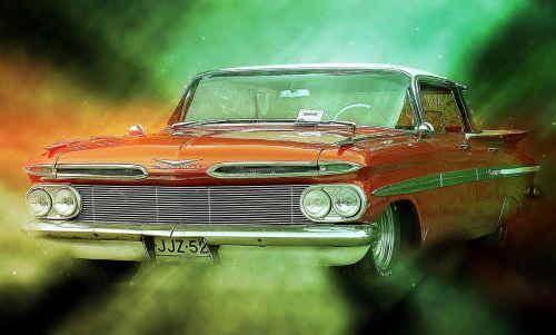 car motor show old