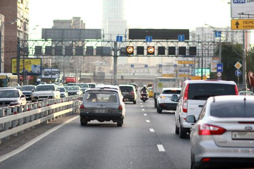 car moscow congestion