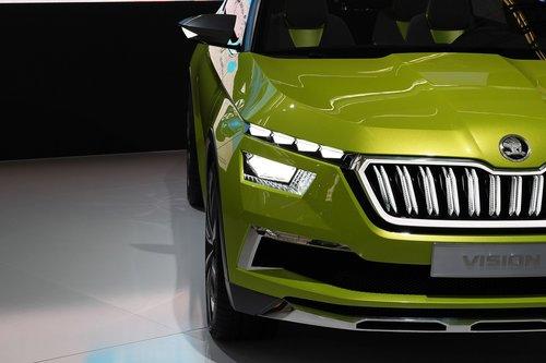 car  škoda vision x  auto show zagreb 2018