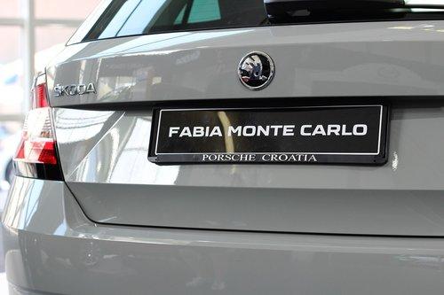 car  škoda fabia monte carlo  auto show zagreb 2018
