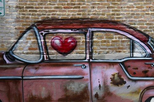 car  graffiti  urban