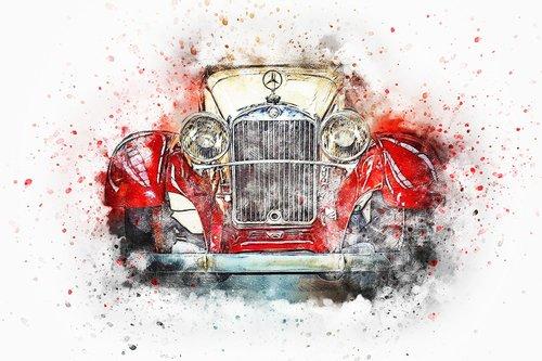 car  old car  retro