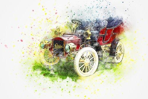 car  cadillac  oldtimer