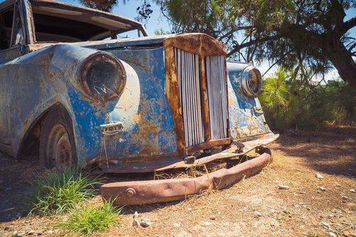 car  old  oldtimer