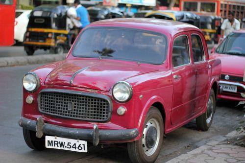 car vintage old
