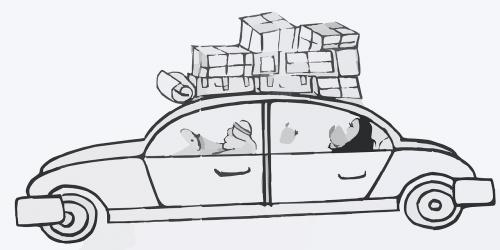 car boxes family