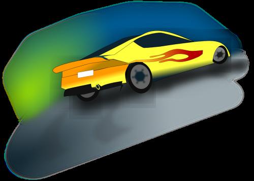 car racing race