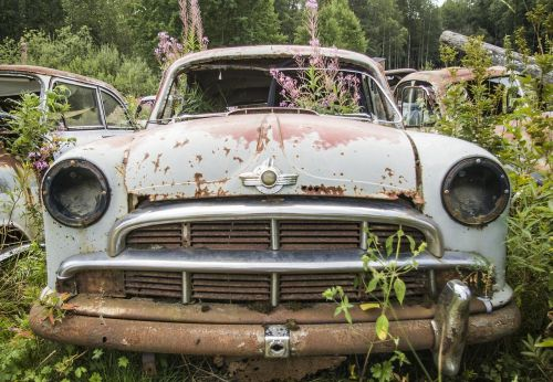 car scrap moss