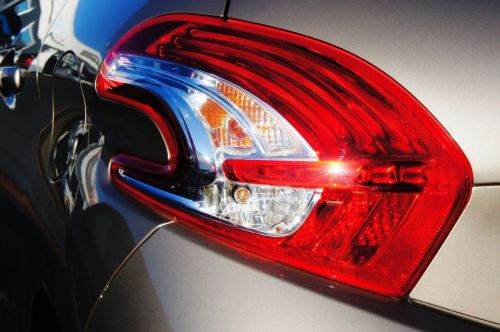 car rear lamp bumper