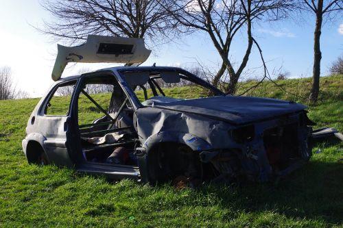 car wreck joyrider