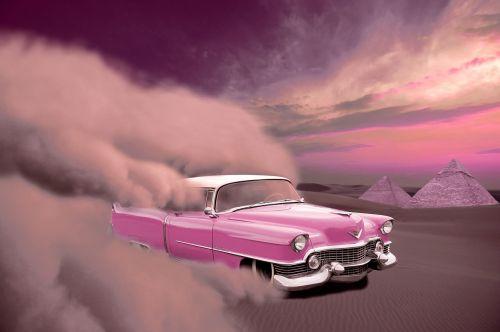 car cadillac desert