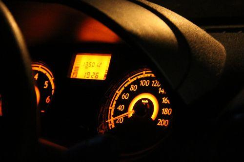car stopwatch panel