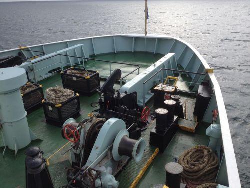 car ferry bow winch