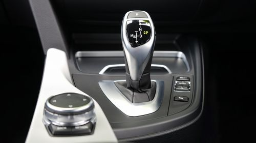 car interior gear selector gear shift